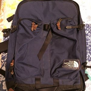 The North Face Crevasse backpack navy blue